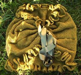 Umhang aus neuseeländischer Supreme Possume Merino Wolle