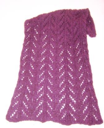 Damenschal aus neuseeländischer Supreme Possume Merino Wolle